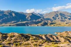 Potrerillos水坝, Mendoza,阿根廷 库存图片
