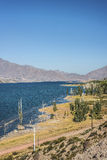 Potrerillos reservoir in Mendoza, Argentina Stock Images