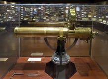 Potro Gatlin Gun - museu de Woolaroc Fotos de Stock Royalty Free