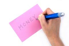 potrzeba pieniędzy Zdjęcia Stock