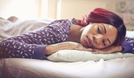Potrzebuje jej piękno odpoczynek fotografia stock