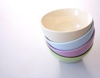 Pots. Colorful pots Stock Image