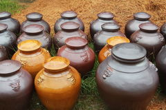 Pots Photographie stock