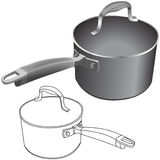Pots Royalty Free Stock Image