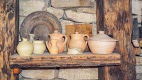 Pots antiques Photographie stock libre de droits