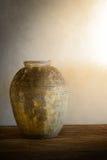 Pots antiques de terre cuite Photo libre de droits