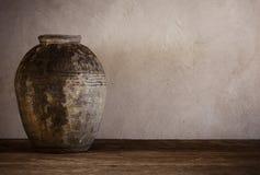 Pots antiques de terre cuite Image stock