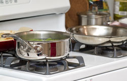 Pots a cookin' Royalty Free Stock Image