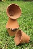 Pots d'argile Photographie stock