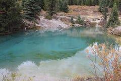 Pots d'encre en Johnson Canyon Photos stock