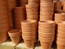 Pots d'usine Photos stock