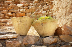 Pots de Berber Photographie stock
