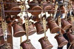 Pots de café faits dans un style traditionnel Photographie stock libre de droits