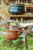 Pots de fleur Image stock