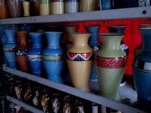 Pots de fleur Photos stock