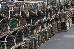 Pots de homard Photo libre de droits