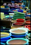 Pots de Japaneese Photo stock