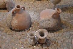 Pots de mer de trésor photographie stock libre de droits