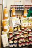 Pots de miel Photographie stock