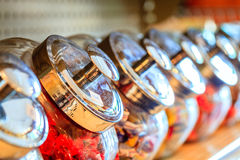 Pots de sucrerie Image libre de droits