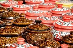 Pots en céramique Image stock