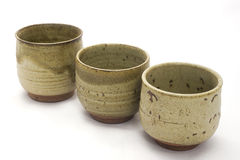Pots en céramique Image libre de droits