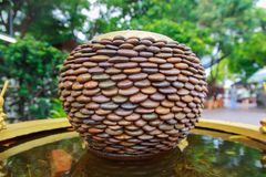 Pots en pierre Photos libres de droits