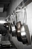 Pots et casseroles Photos libres de droits