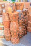 Pots en céramique Photo libre de droits
