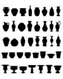 Pots et poterie Images libres de droits