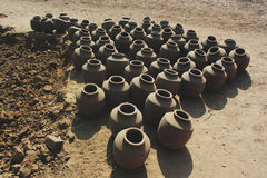 Pots from Inida Stock Photography
