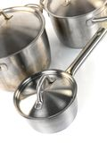 Pots and Pans Stock Images