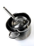 Pots and Pans Royalty Free Stock Photo