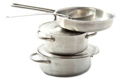 Pots and pans Royalty Free Stock Image