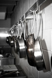 Pots and pans Royalty Free Stock Photos