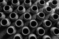 Pots Pattern - India stock photo