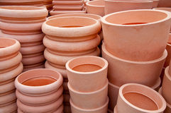 Pots for sale Stock Photography