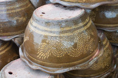 Pots upside Dragon Stock Photos