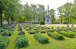 Potsdam, Allemagne Cimetière commémoratif militaire soviétique Basseyn-plats la place photographie stock