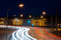 Potsdam city by night Stock Images