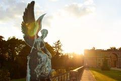 Potsdam, Duitsland - Mei 28, 2014: Sanssoucipaleis bij zonnige summe Royalty-vrije Stock Foto