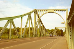 POTSDAM, GERMANY - AUGUST 15, 2017: Glienicke Bridge in Potsdam. Stock Photography
