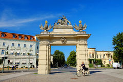 POTSDAM, GERMANY - AUGUST 15, 2017: Jagertor - the oldest City G Royalty Free Stock Photo