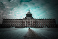 Potsdam. Germany. Close as possible to symmetry Stock Images