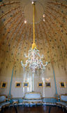 Potsdam, Germany - May 08, 2016: Porcelain chandelier at the New Royalty Free Stock Photography