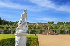 Sanssouci palace - Potsdam - Germany. Sanssouci palace at Potsdam Germany stock photos