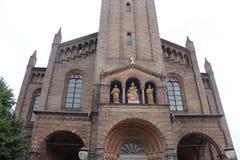 Potsdam kyrka av St Peter och Paul Arkivbilder