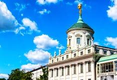 Potsdam muzeum sztuki Palais Barberini przy Starym rynkiem, Niemcy Zdjęcie Royalty Free