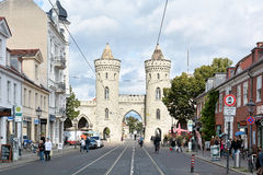 Potsdam. Nauen Gate in the Old Town of Potsdam Royalty Free Stock Photos