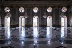 Potsdam Niemcy, Maj, - 08, 2016: Marmurowy Hall przy Nowym pałac o Zdjęcia Royalty Free